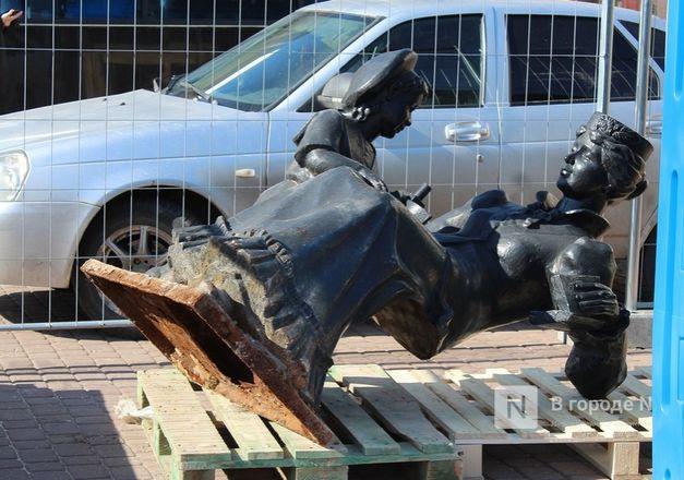 Скульптуры с Большой Покровской уберут на время работ по благоустройству - фото 2