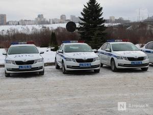 13 новых машин поступило на службу нижегородским сотрудникам ГИБДД