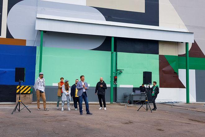 Первый в России индустриальный стрит-арт парк открылся в Выксе  - фото 3