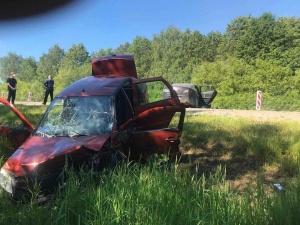 Шесть человек пострадали в массовой аварии на трассе Нижний Новгород — Саратов