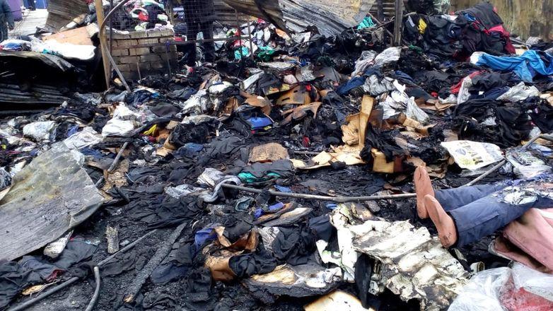 ГУ МЧС по региону показало, как выглядит Канавинский рынок после пожара - фото 6