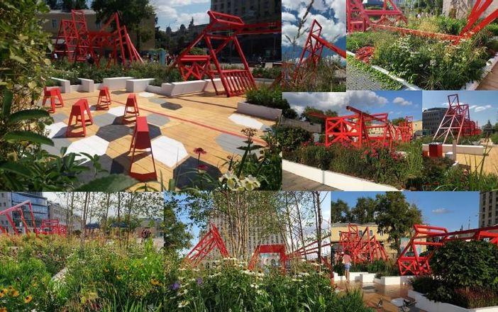 Авангардистский сад и скейт-парк: стало известно, как будет выглядеть площадь Советская - фото 10