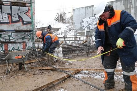 Металлические конструкции трамплина в Нижнем Новгороде возведут к концу июня