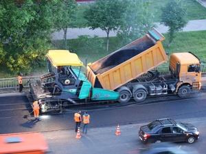 650 квадратных метров дорог отремонтировали в Автозаводском районе