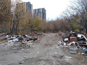 Незаконную свалку в Ленинском районе уберут в декабре