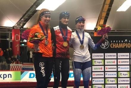 Нижегородская конькобежка завоевала медали на чемпионате мира
