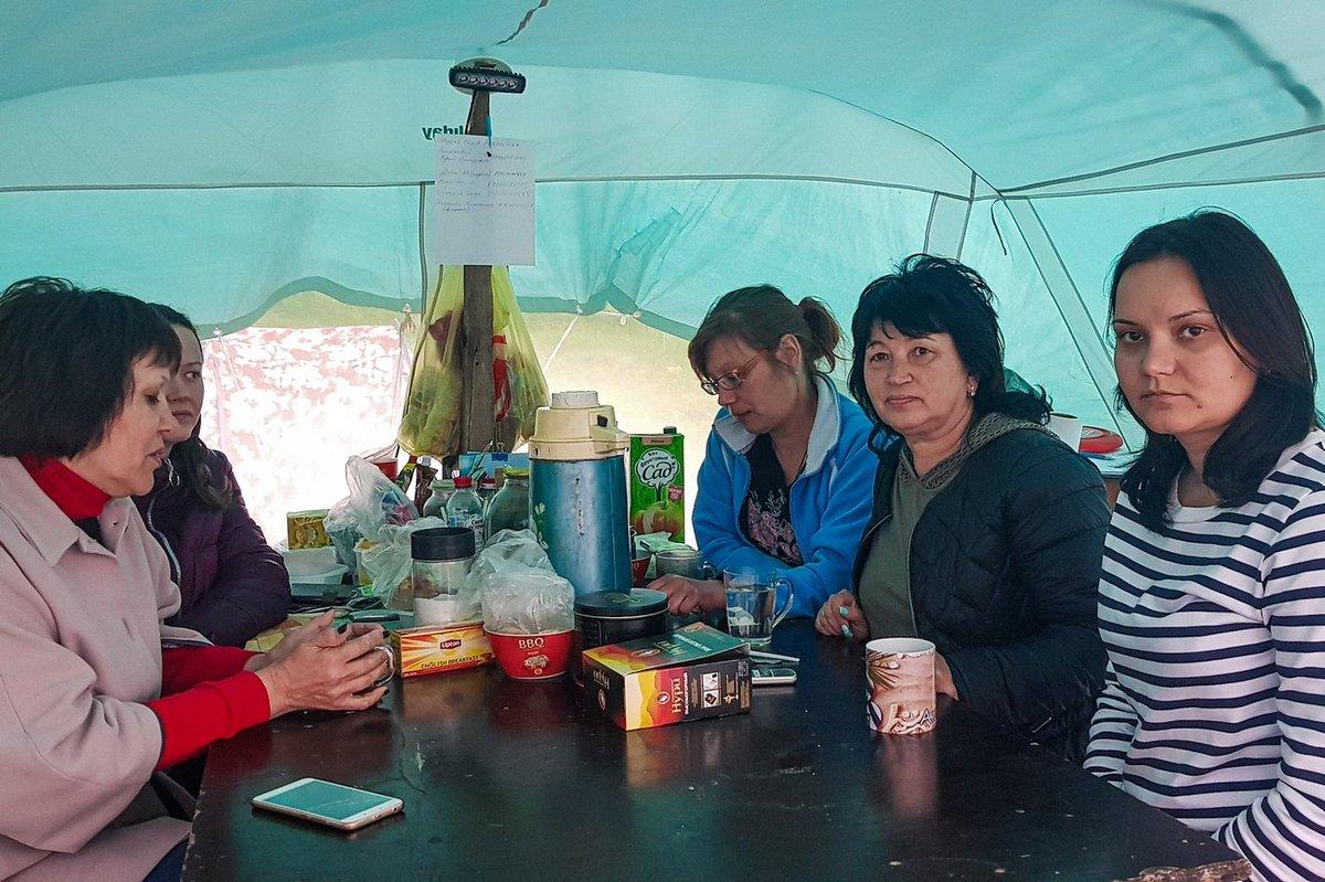 «Либо бульдозеры зайдут в лагерь, либо краны — на стройку», — обманутые дольщики - фото 3