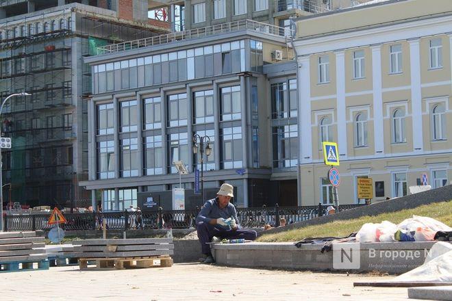 Чкаловскую лестницу открыли, несмотря на продолжающиеся ремонтные работы - фото 49