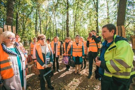 Руководители школ и родительских комитетов поддержали проект благоустройства парка «Швейцария»