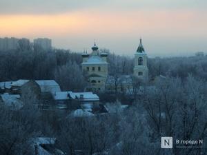 Начало декабря в Нижегородской области будет морозным и бесснежным