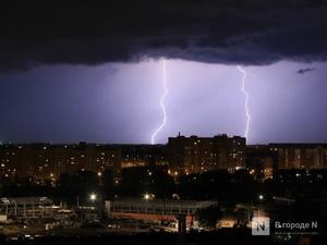 Грозы, град и ливни продлятся в Нижегородскую область до утра 3 июля