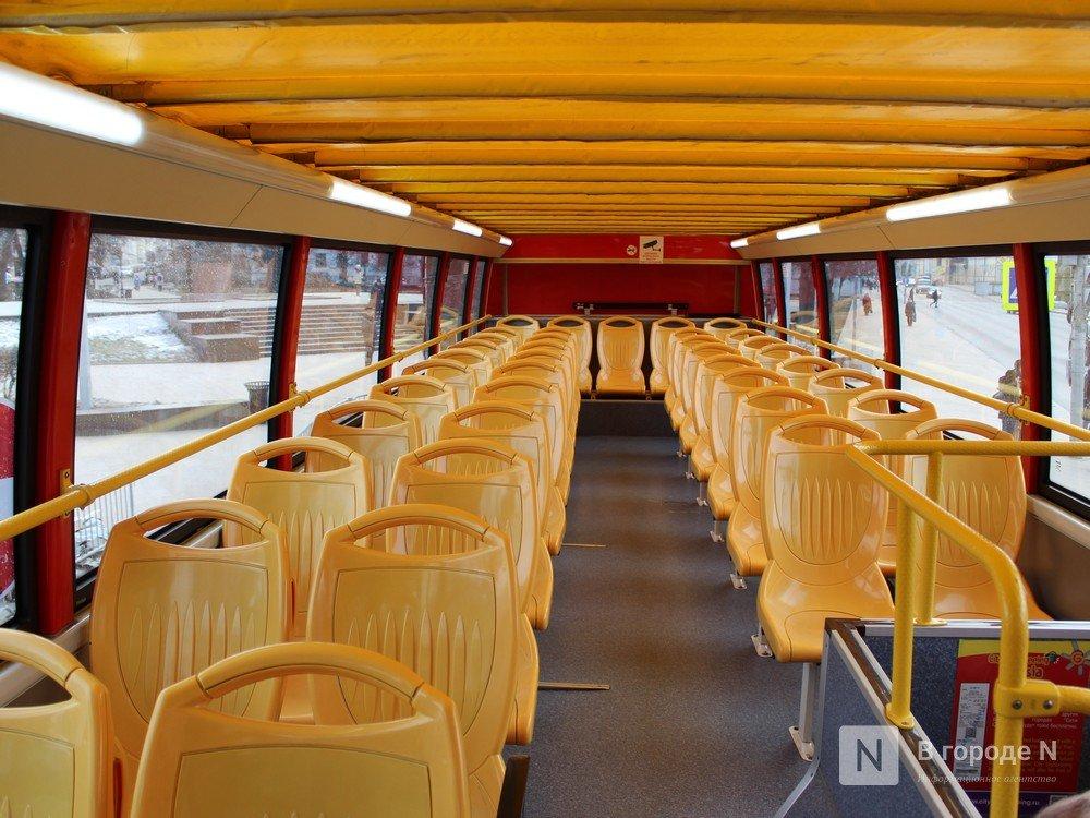От вокзала до кремля на даблдекере: двухэтажный автобус начал курсировать по Нижнему Новгороду - фото 2