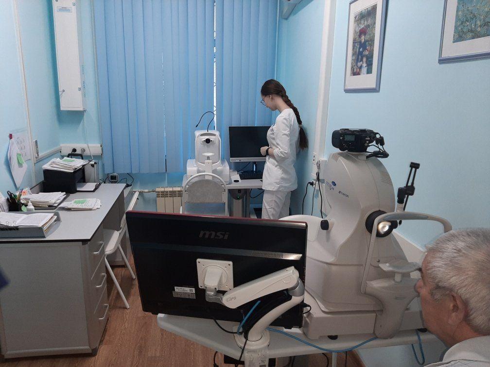 В нижегородской поликлинике больницы № 33 отремонтировали вход и зону приема пациентов
