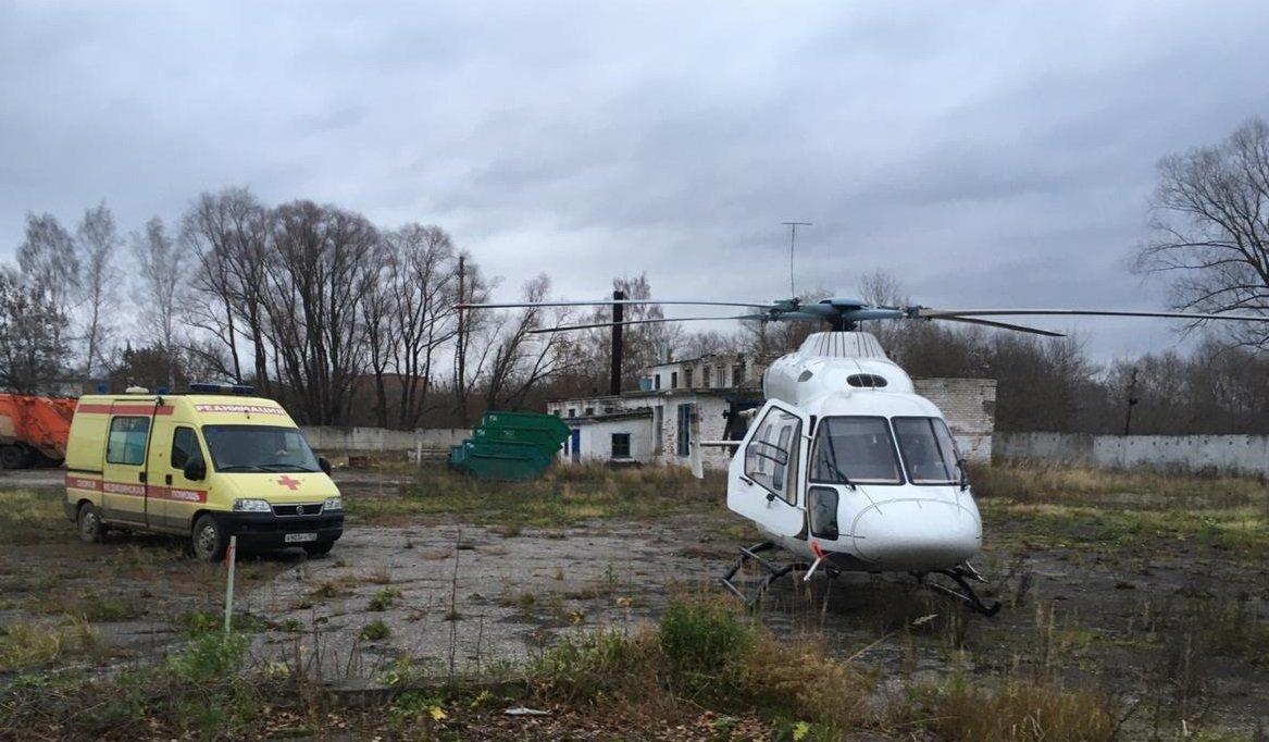 Годовалого ребенка экстренно эвакуировали изЛыскова вНижний Новгород
