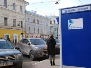 Около 7400 парковочных мест появится в Нижнем Новгороде в 2019 году