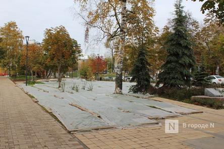 Две территории в Нижегородском районе не успели благоустроить