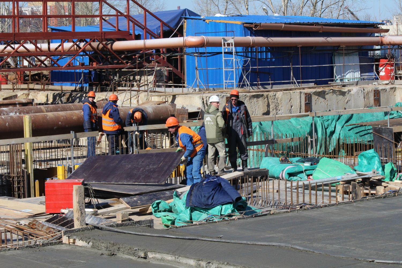 Задержка по заработной плате неповлияет настроительство метро вНижнем Новгороде