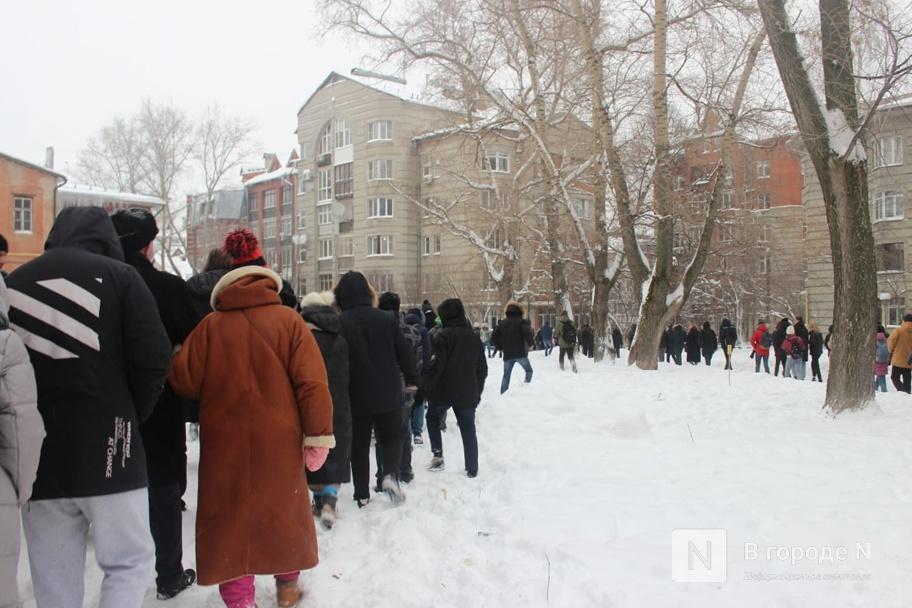 Протестный митинг прошел в Нижнем Новгороде 23 января. Фото - фото 3