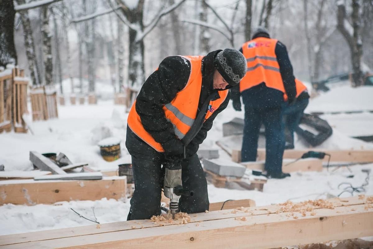 Установка экошколы началась в нижегородском парке «Швейцария» - фото 1