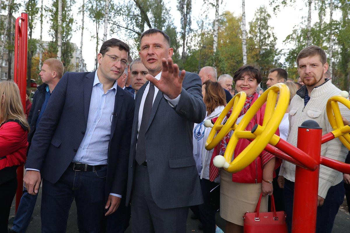 Первую очередь благоустройства Светлоярского парка торжественно открыли в Сормовском районе - фото 2