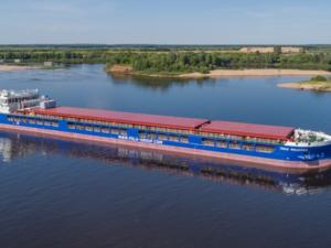 Завод «Красное Сормово» передал заказчику новый сухогруз