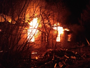 Пожар в Тоншаевском районе унес одну жизнь