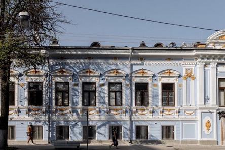 Реставрация внешнего контура Литературного музея в Нижнем Новгороде завершится до конца года