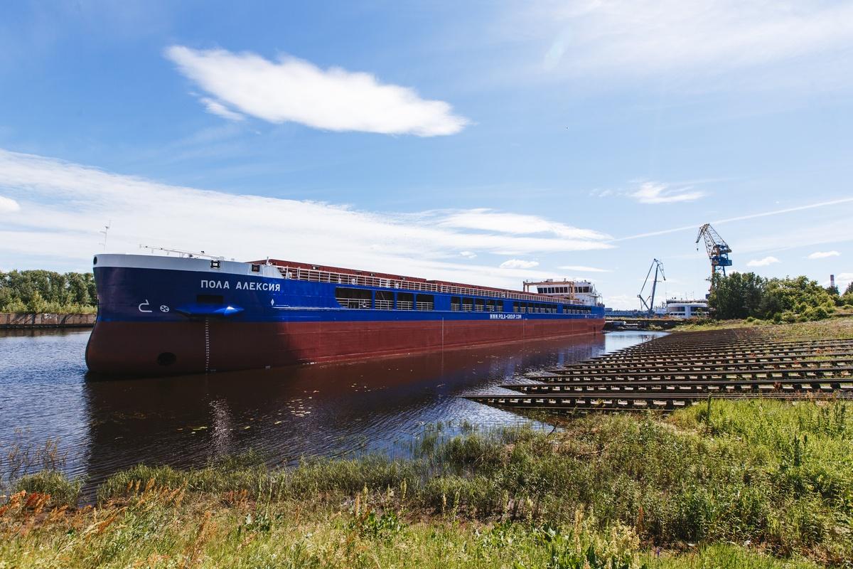 Сухогруз «Пола Алексия» спустили на воду на заводе «Красное Сормово» - фото 1