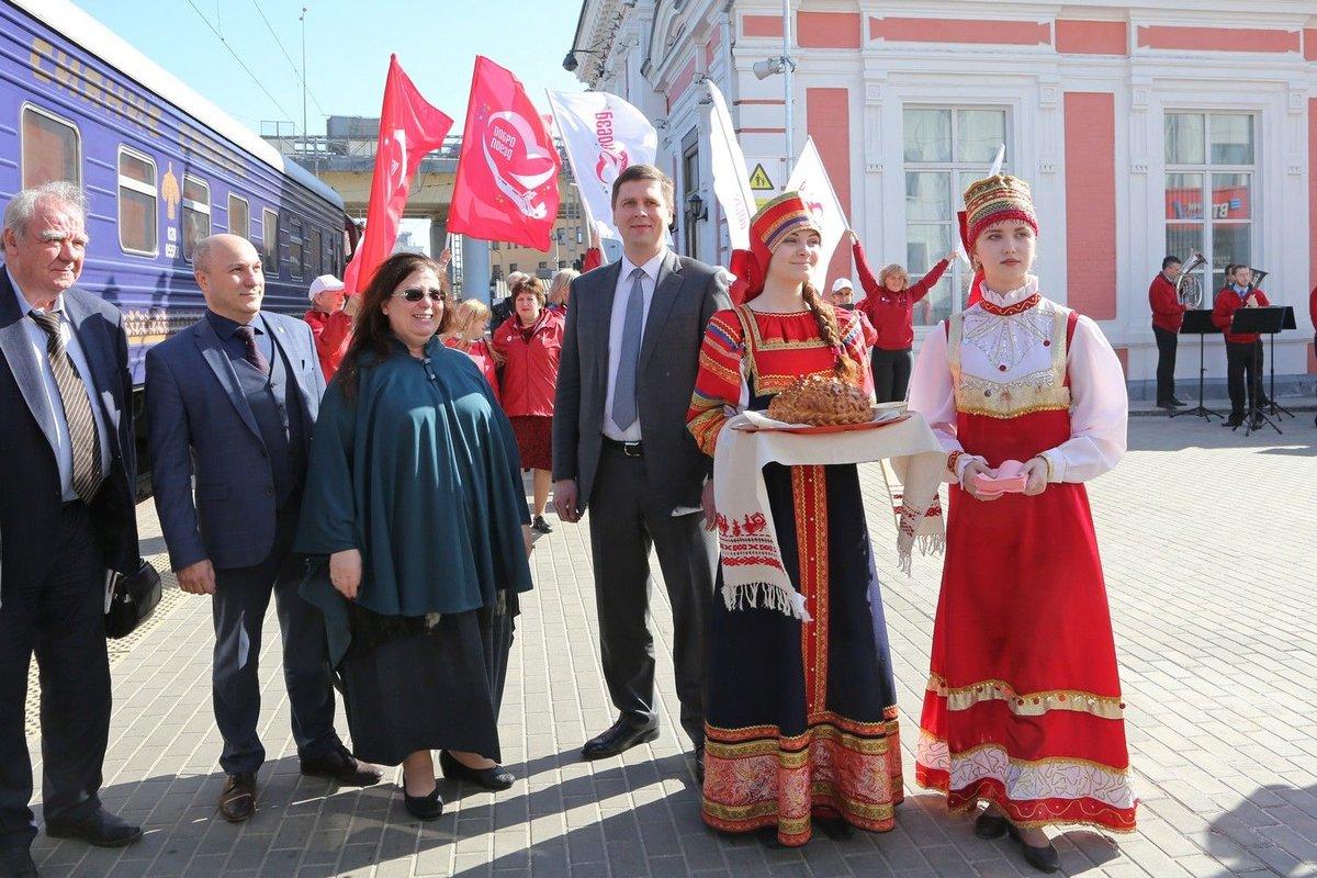 В Нижний Новгород прибыл «Добропоезд» - фото 1