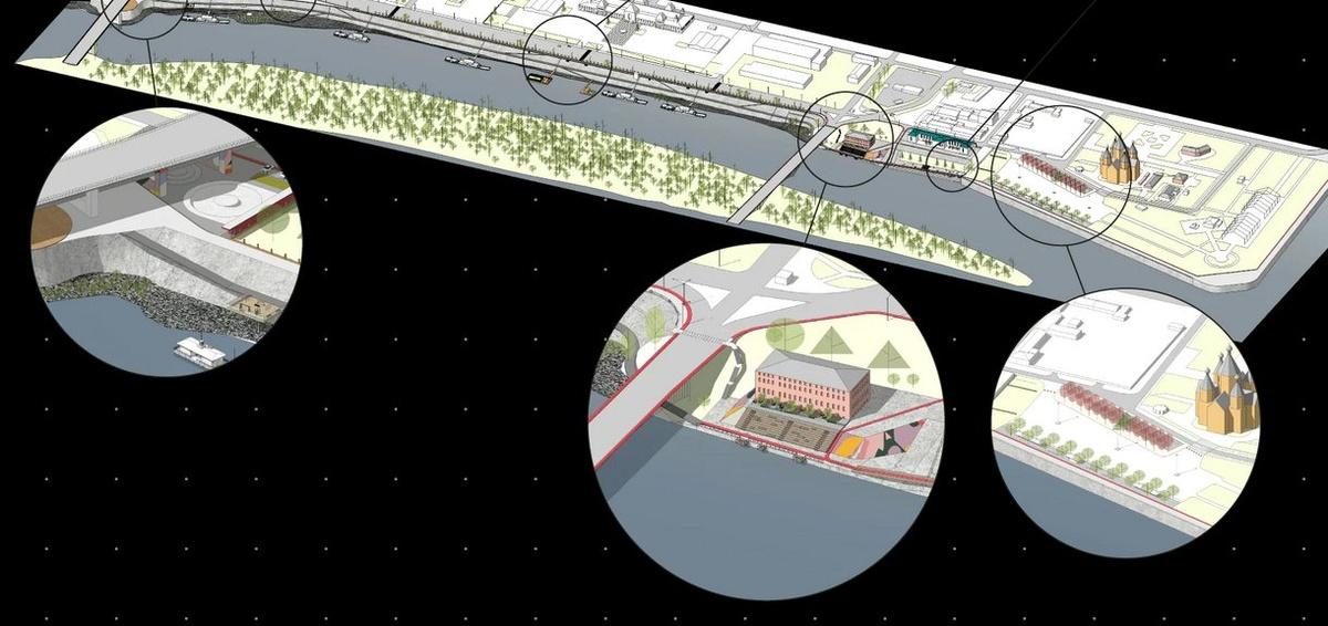 Барбекю на воде и музей подводного мусора: как изменится набережная Оки - фото 9