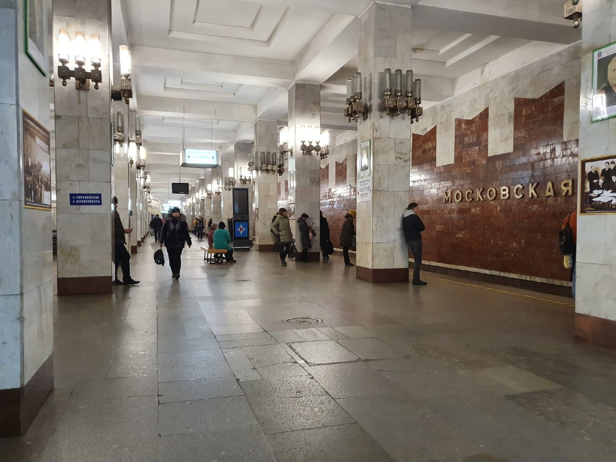 В работе нижегородского метро произошел сбой - фото 1
