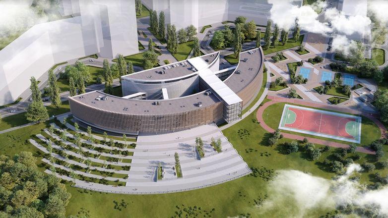 «Мы не просто строим новую школу, но и создаем новое образовательное пространство», - директор Школы 800 Сергей Злобин - фото 3