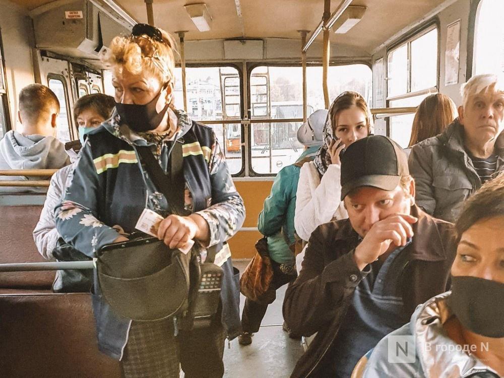 Нижегородские автобусы с пассажирами без масок не будут отходить от остановки - фото 1