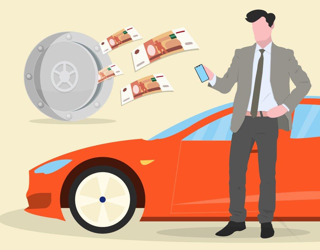 Последовательность действий при покупке автомобиля