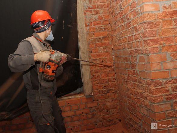Инъекция для стен: как идет реставрация фасада нижегородской фабрики «Маяк» - фото 24