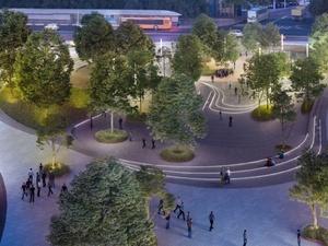 Благоустроенный террасированный парк создадут на площади Лядова