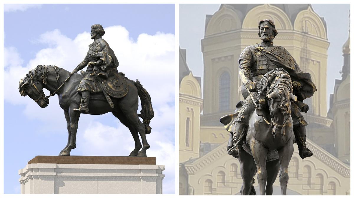 Эскизы проектов памятника Александру Невском показали нижегородцам - фото 1