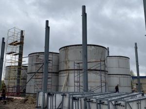 Очистные сооружения в Бутурлине построены на 57%