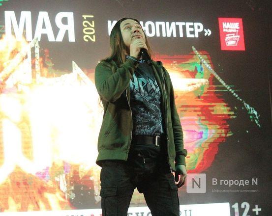Вокалист «Арии» продемонстрировал нижегородцам полет над залом «Юпитера» - фото 7