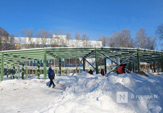 Детский центр в нижегородском парке «Швейцария» готов на треть - фото 7
