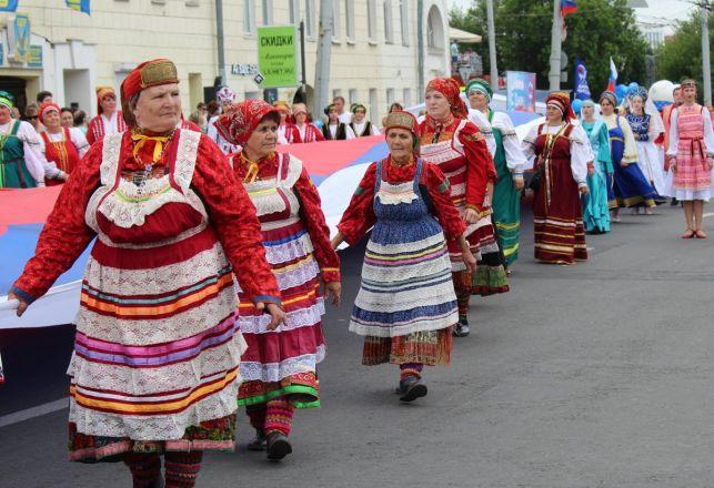 Фестивали духовых оркестров и Дружбы народов прошли в Нижнем Новгороде в День России - фото 28