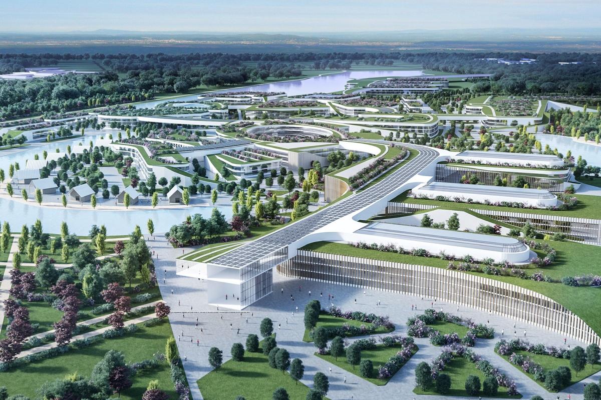 Паркоград «Нижний» вместо Globe Town: представлен новый проект застройки Борской поймы - фото 1