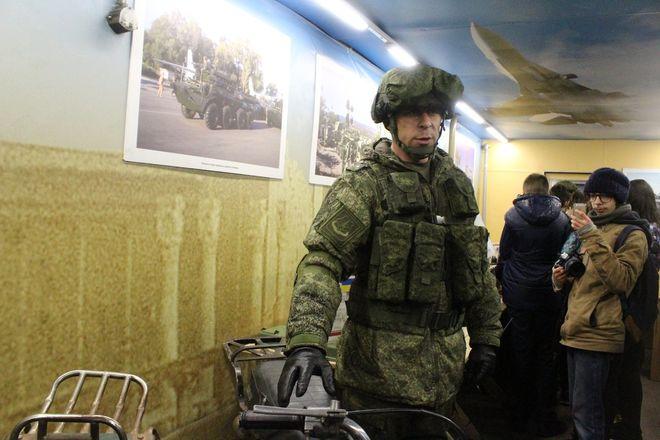 «Сирийский перелом»: уникальная выставка военной техники побывала в Нижнем Новгороде - фото 11