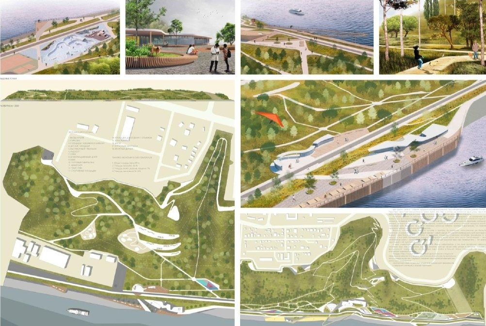 Девять вариантов развития парка «Горки» предложили нижегородские студенты - фото 2