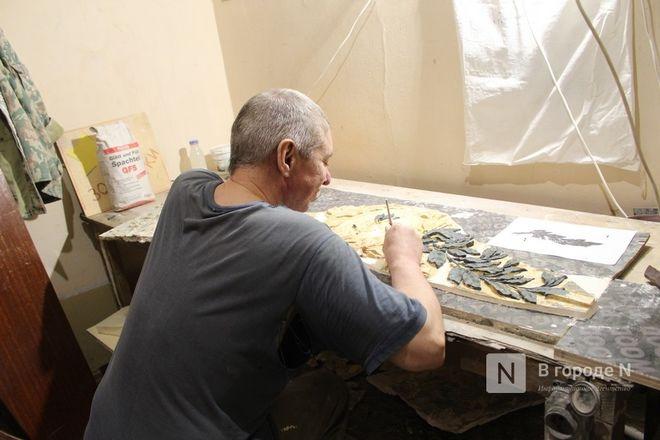 Реставрация исторической лепнины началась в нижегородском Дворце творчества - фото 33