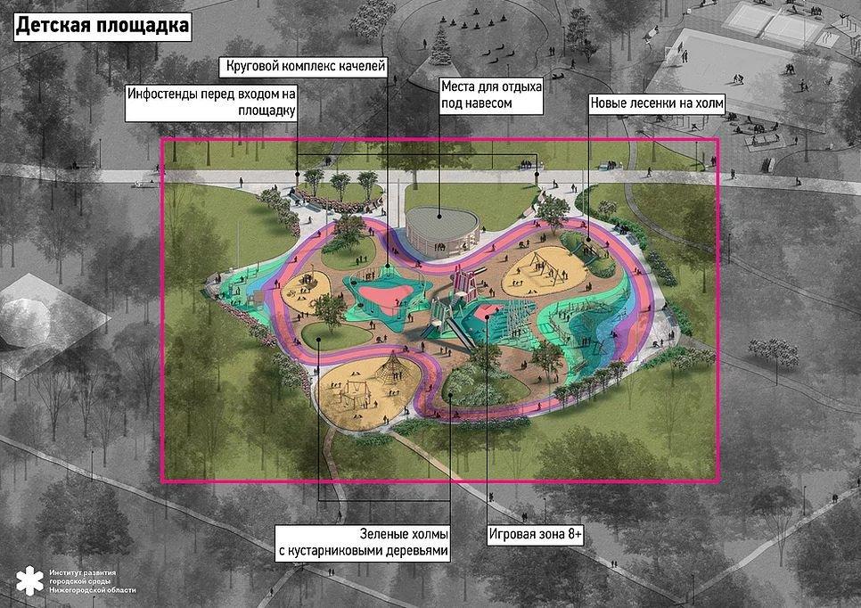 Скалодром и «лавочка интроверта»: как преобразится парк «Дубки» - фото 3