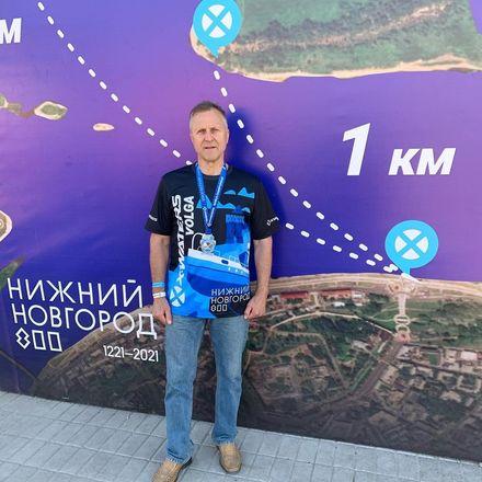 Депутат Законодательного собрания Нижегородской области принял участие в 5-м заплыве X-WATERS Volga - фото 4