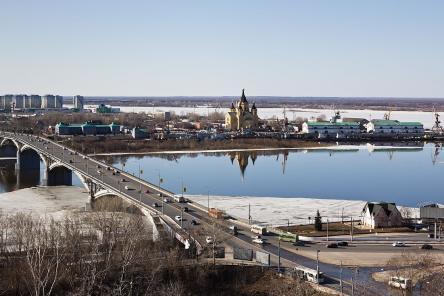 Парк появится на нижегородской Стрелке в мае 2018 года