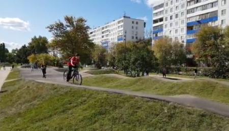 «Американские горки» для велосипедистов построили в сквере «Канавинский» на Московском шоссе - фото 1