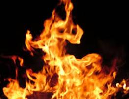 Из-за детской шалости в Краснобаковском районе загорелся жилой дом